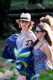 Scarlett Johansson - Candids in Jamaica - Dec 15, 2010 (x11)