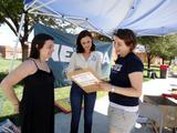 Alexis Bledel - Voter Registration Event at UNLV - Aug 28, 2012