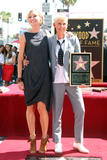 Portia de Rossi @ Hollywood Walk of Fame Celebration of Ellen DeGeneres in Hollywood | September 4 | 12 pics