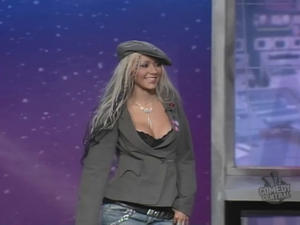 Christina Aguilera - The Daily Show (2002)