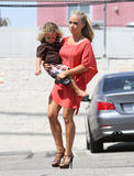 Kendra Wilkinson | On the Set of her Personality Show in West Hollywood | July 11 | 13 pics