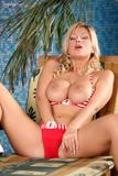 Carol Goldnerova ~ Touching Her Sun Kissed Body ~j1tn07htwv.jpg