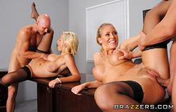 Bigtitsatwork - Lexi Swallow, Nicole Aniston - Hard 'N' Firm *December 15, 2011*