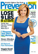 Katie Couric in Prevention Magazine x6
